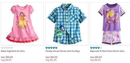 Disney $10 deals