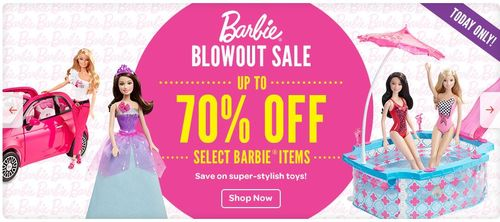 Barbie sale mattel