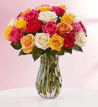 Assorted roses 1800flowers