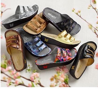 Allegria sandals