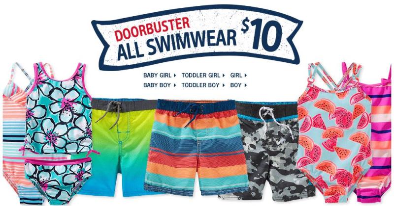 Osh kosh bgosh clearance sale swimwear $10