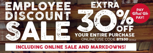 Aeropostale 30% off Your Entire Purchase + Free Shipping on $75 #BackToSchool