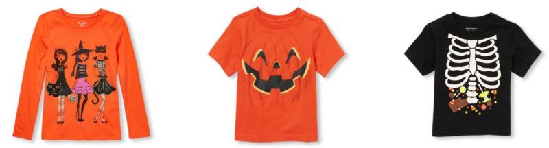 Children's place halloween tees 1
