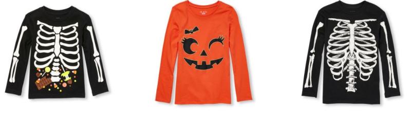 Children's place halloween tees 2