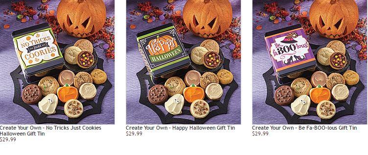 Cheryl's cookies halloween tin