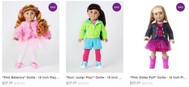 Dollie and me dolls on sale