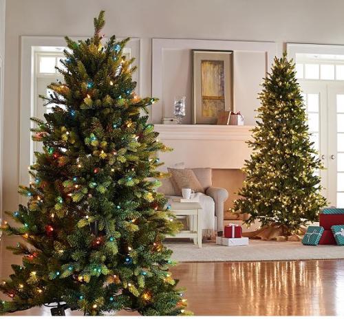 Bethlehem lights prelight noble spruce christmas tree