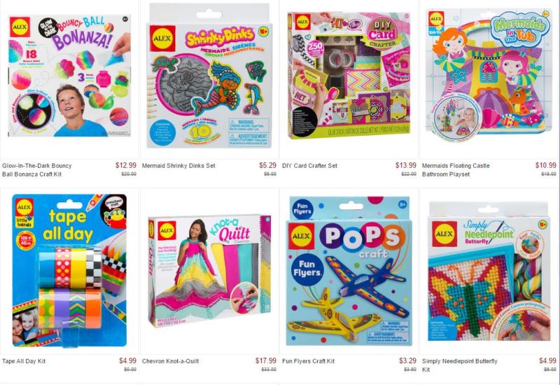 Zulily alex toys 2