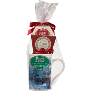 Thomas Kinkade Painter of Light Tea Mug Gift Set, 4 pc