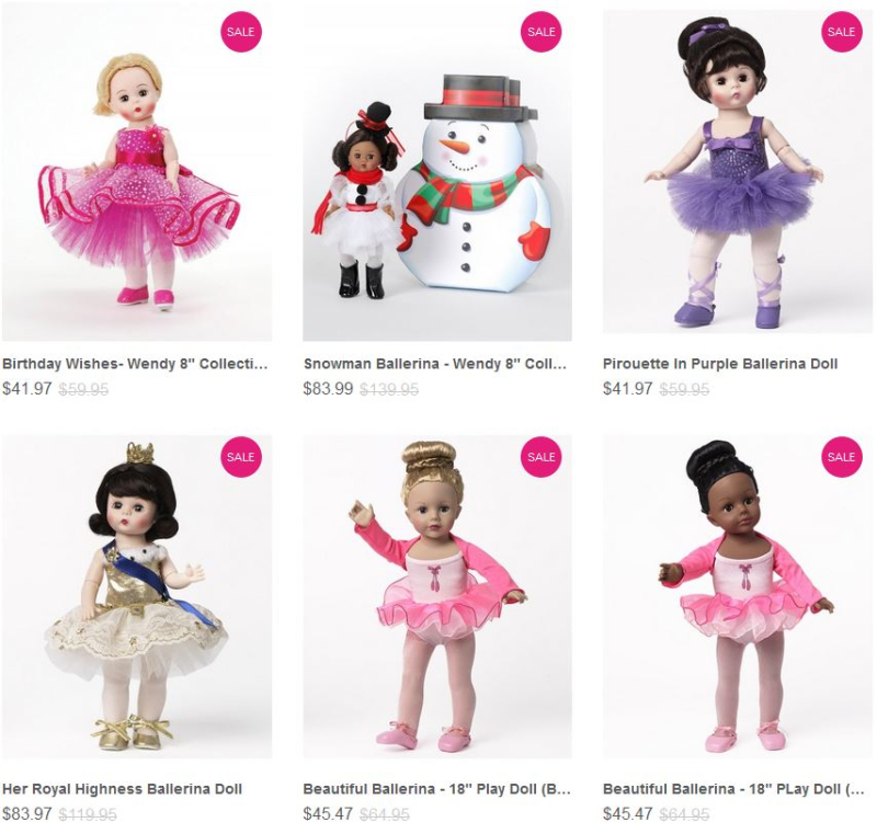 Madame alexander ballerina dolls on sale