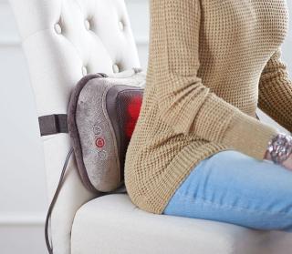 Homedics 3D shiatsu heated massage pillow 2