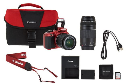 Canon rebel t6 18mp dslr wifi camera