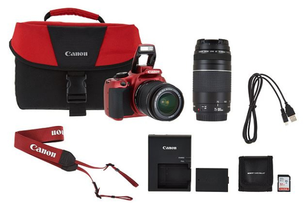 Canon Rebel T6 Wi Fi Dslr Camera With Accessories On Easy