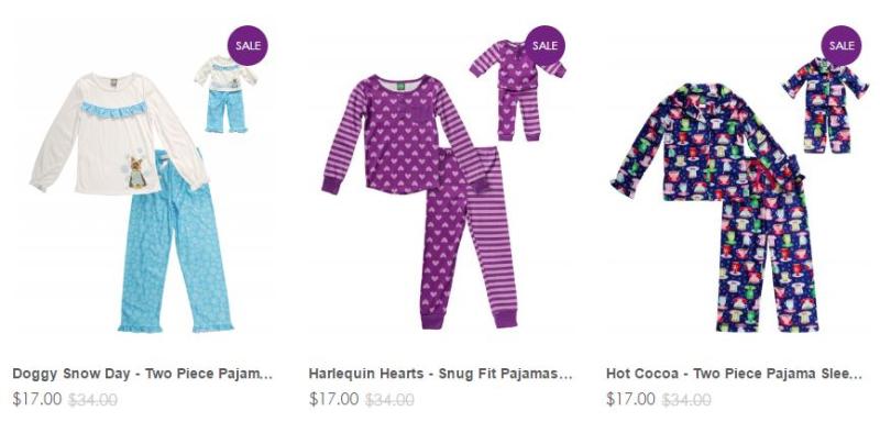 Dollie me pajamas