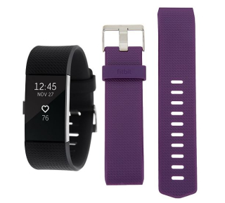 Fitbit charge 2 tracker with additional classic band