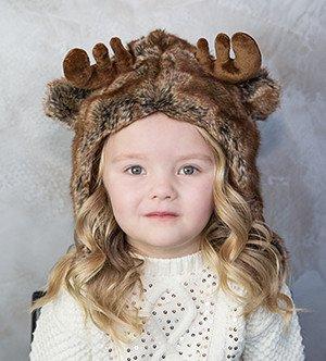 Eskimo kids moose