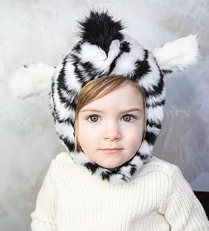 Eskimo kids zebra