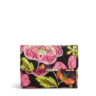 Vera bradley euro wallet pink
