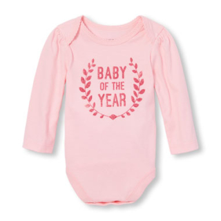 Children's place onesie baby of the year