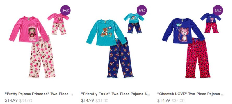 Dollie and me $14.99 sale sets
