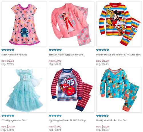 Disney store pj pals pajamas