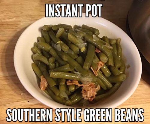 Instant pot southern style green beans 3