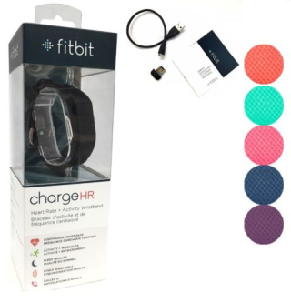 Fitbit Charge HR Activity  Heart Rate + Sleep Wristband SRF