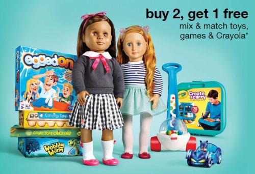 Target bogo toys