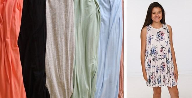 PreTeen Pocket Dress 2 Styles