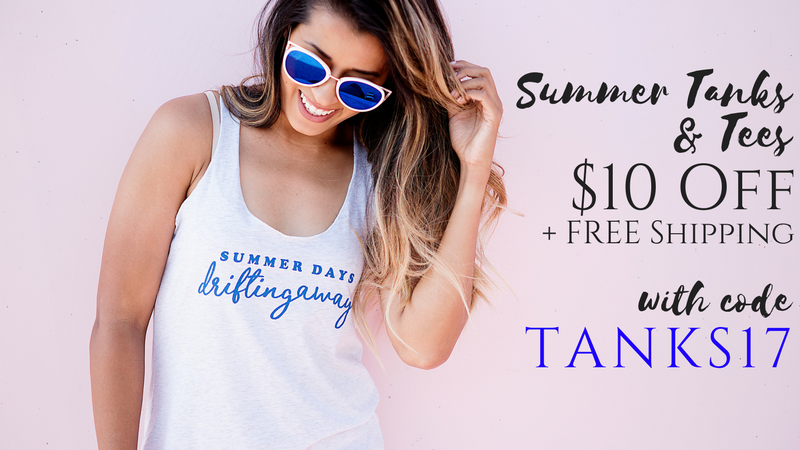 Cents of style tanks and tees $10 off