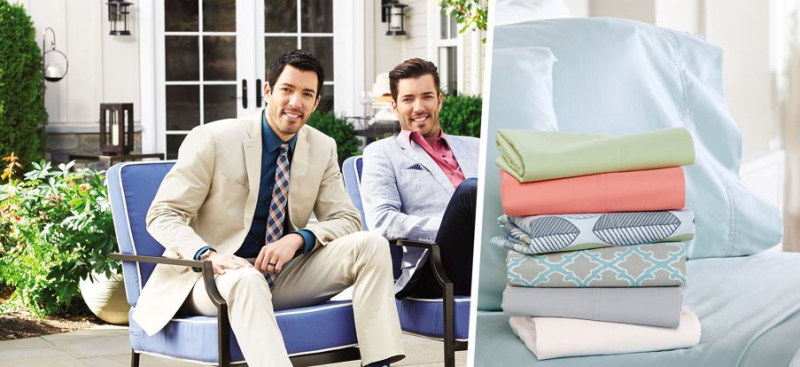 Scott living property brothers sheets