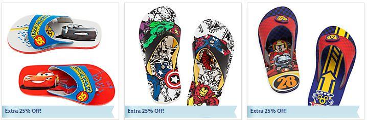 Disney flip flops 2