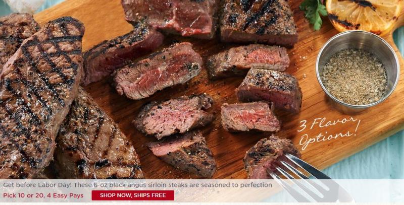 Rastelli angus steaks
