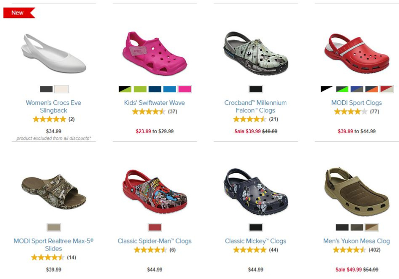 Crocs labor day sale coupon