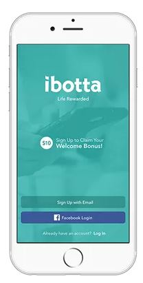 Ibotta home screen
