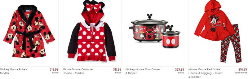 Zulily disney mickey and minnie collection