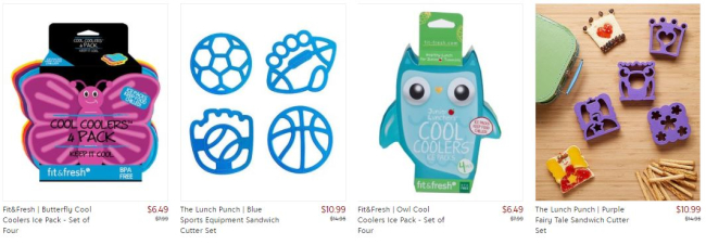 Pack the Perfect Lunch with These Fun Items from Zulily