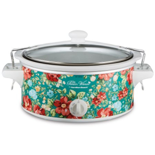 Pioneer Woman 6 Quart Portable Slow Cooker vintage floral