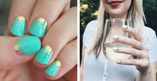 Party nail wraps