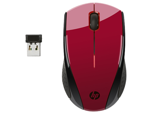HP Red Wireless Mouse