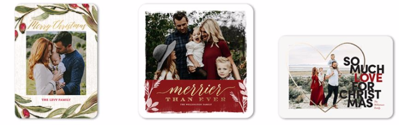 Tiny prints free holiday cards