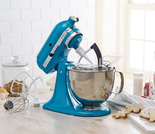 KitchenAid 5 Qt. 325W Tilt Head Stand Mixer With Flex Edge