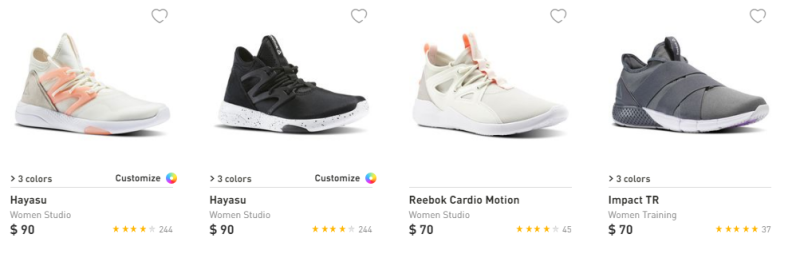 Reebok $29.99