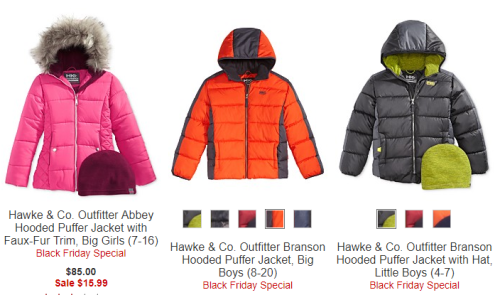 Kids puffer jackets at macy's