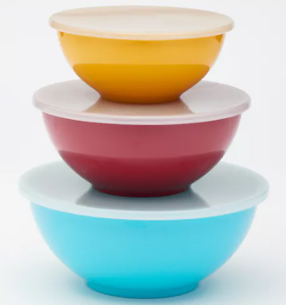 Food network nesting bowl set