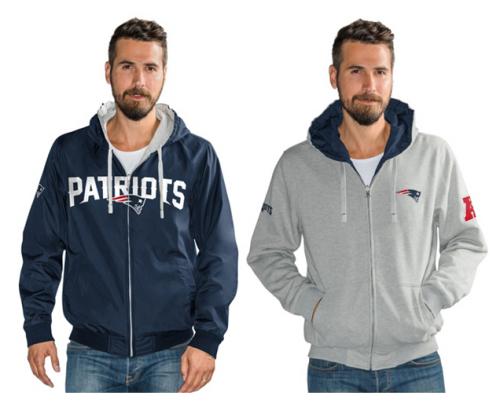 NFL Reversible Hoodie and Jacket in Team Colors