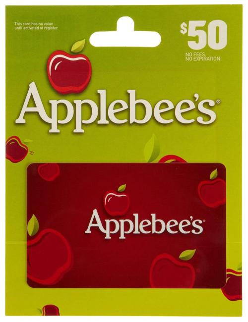 Applebees gift card