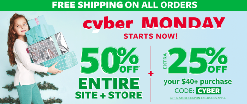 Carter's cyber monday