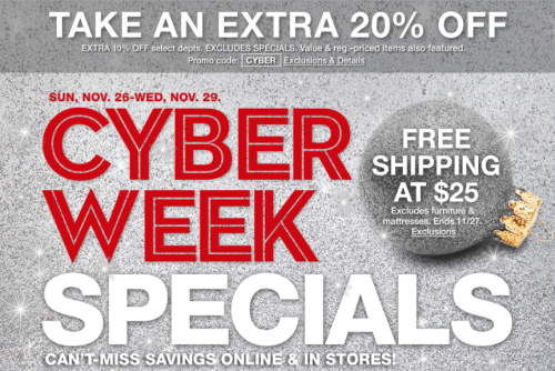 Macy's cyber monday deals