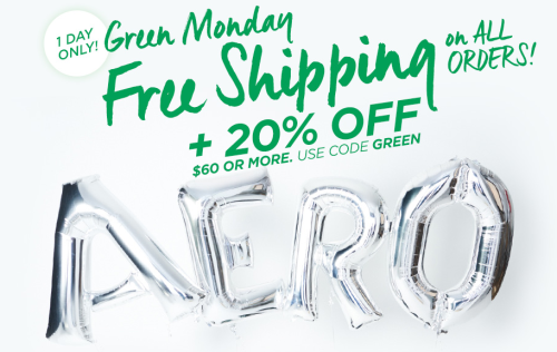 Aeropostale green monday